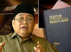 1Malaysia bigot that instigated bible burning idea!