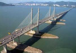 We have to pay RM7.00 every time we pass through this bridge. Thank you BN!!!